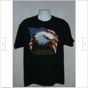 """Awakening the Giant"" Hanes Men's T-Shirt Large"
